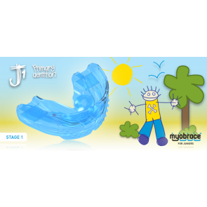 J1 Myobrace for Juniors Large Blue