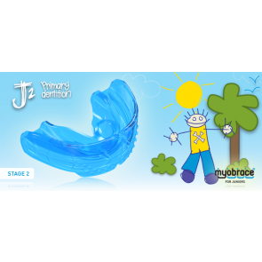 J2 Myobrace for Juniors Large Blue