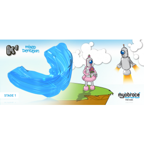 K1 Myobrace for Kids Small Blue