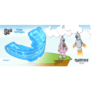K2 Myobrace for Kids Large Blue