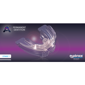 A1 Myobrace for Adults Large Purple