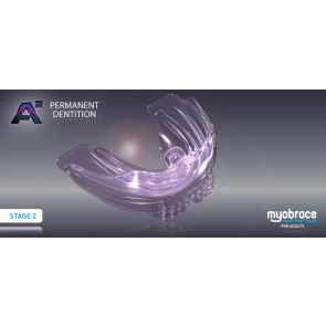 A2 Myobrace for Adults Large Purple