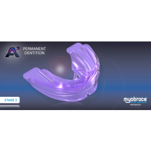 A3 Myobrace for Adults Large Purple