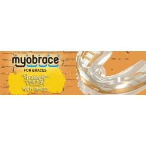 B1 Myobrace for Braces Regular Clear