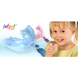 Infant Trainer Silc. Blue