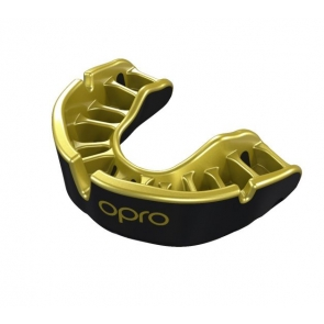 Opro Mouthguards - Black / Gold